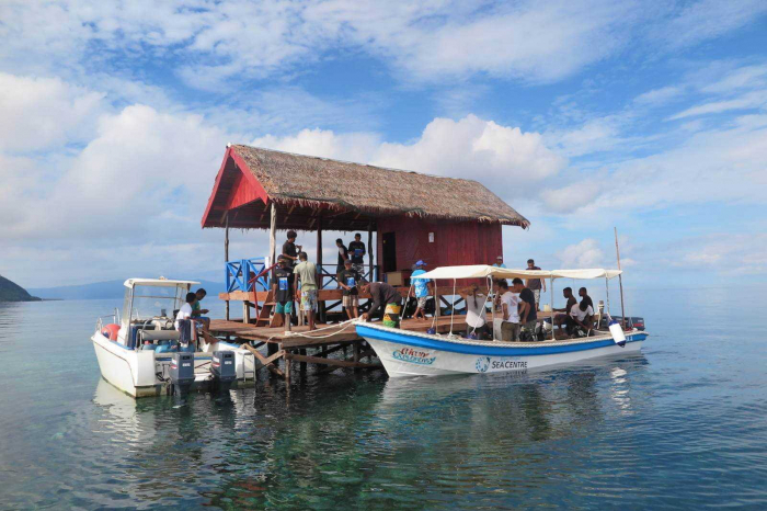 SEA Centre Papua Explorers Manta Sandy Ranger Station