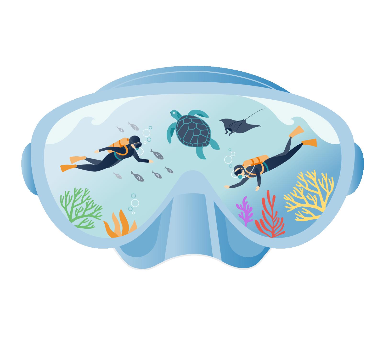zublu_scuba_diving_illustration