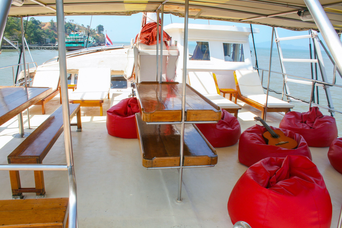 The Phinisi Liveaboard Thailand 2